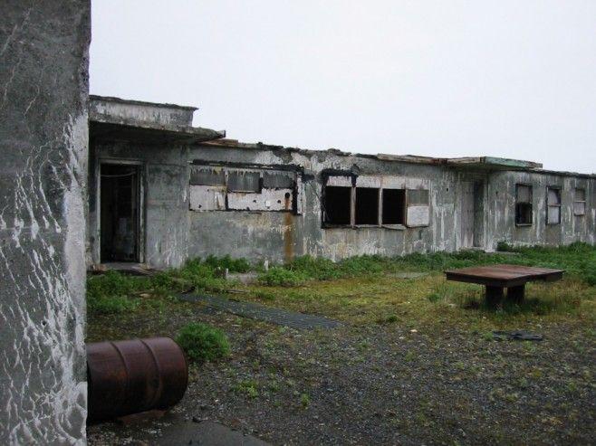 Military bunker, Attu Island, Alaska