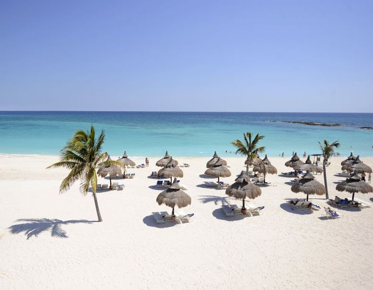 Med Cancun | Best Family-Friendly All-Inclusive Resort in Cancun Mexico | Beach at Club Med Cancun Yucatan