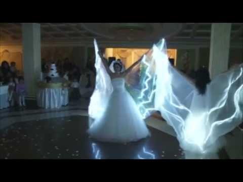 Muhteşem düğün şov...ışıklı kostümler dikilir...05345199005