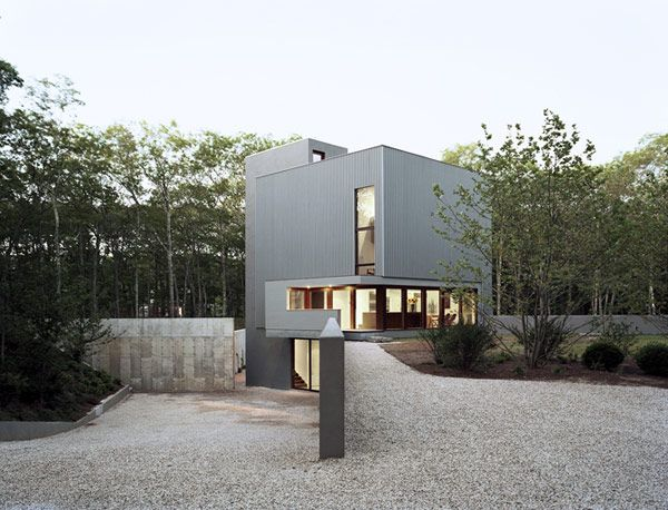 Marvelous Entry To The Sagaponac House; Designed By Tsao U0026 McKown Architects; The  Architects Describe This Property As