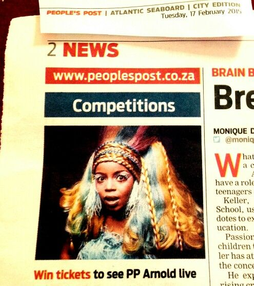 Win tickets to see PP Arnold LIVE in Concert with The Glenn Robertson Jazz Band plus Zayn Adam and Pacific Express at His People Centre N1 City on 7th March 2015 - People's Post Atlantic Seaboard. Get your tickets now!