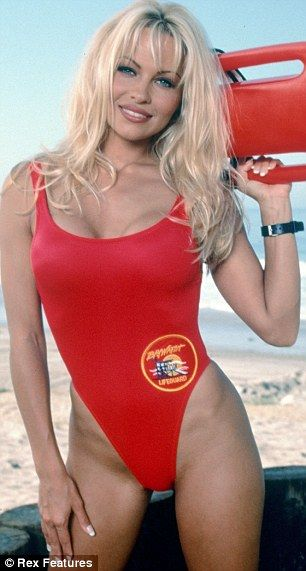 Used to love Baywatch!  There she is..  #Lifeguard #beachlifeguard Halloween Costume