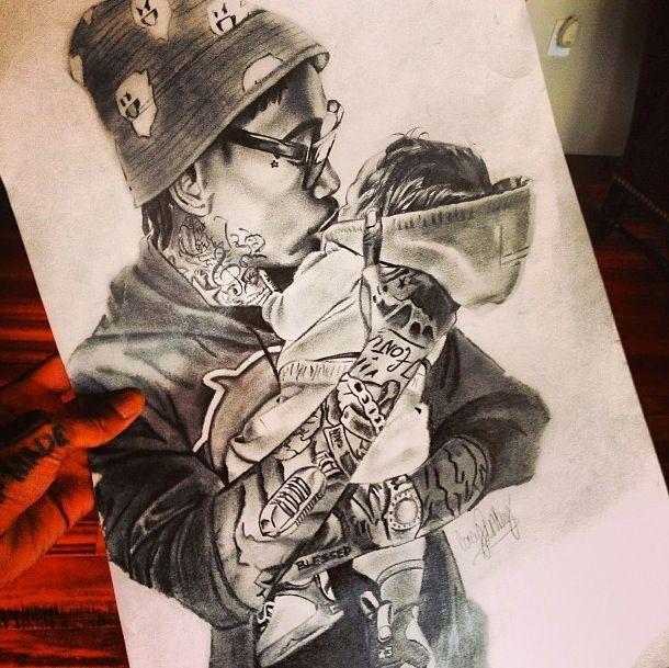 Wiz Khalifa & Son