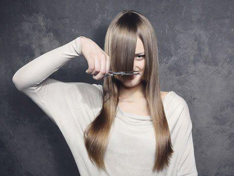 Perfekter Zeitpunkt (Mondkalender) zum Haare schneiden .