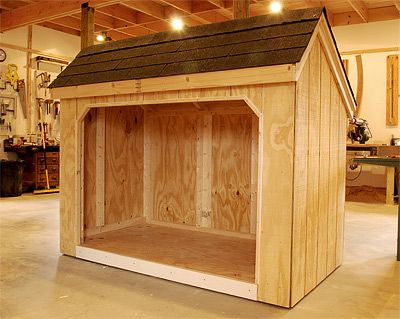 Open Shed School Bus Shed Firewood Shed Open Shed