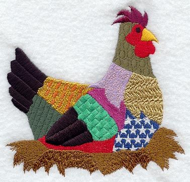Lots of Embroidery/Applique Designs here!
