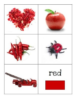 Color Matching Cards - Homeschool Creations