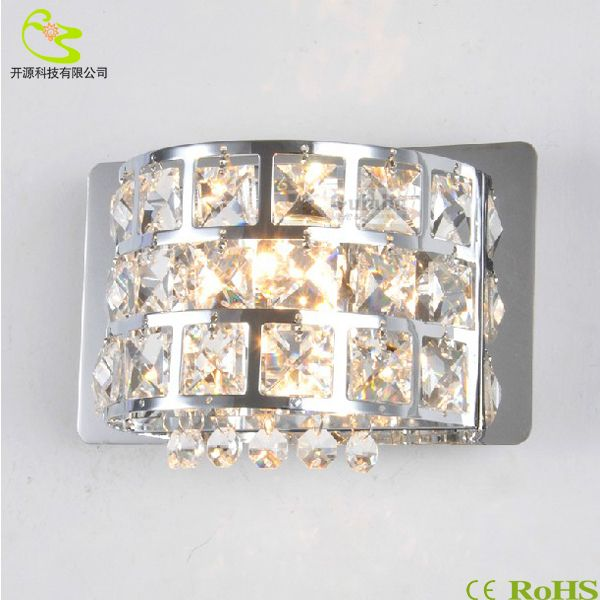 Find More LED Indoor Wall Lamps Information about 1PCS/LOT crystal led  wall light Bedroom indoor modern single head bedside lamp 85 265v G4 bulb k9 crystal wall mounted light,High Quality LED Indoor Wall Lamps from Shenzhen MDL Technology Co.,Ltd on Aliexpress.com