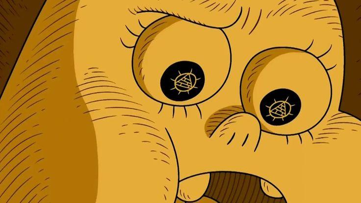 "Desenho Illuminati ""Clarêncio, o Otimista"" (Mensagens Subliminares 2)"