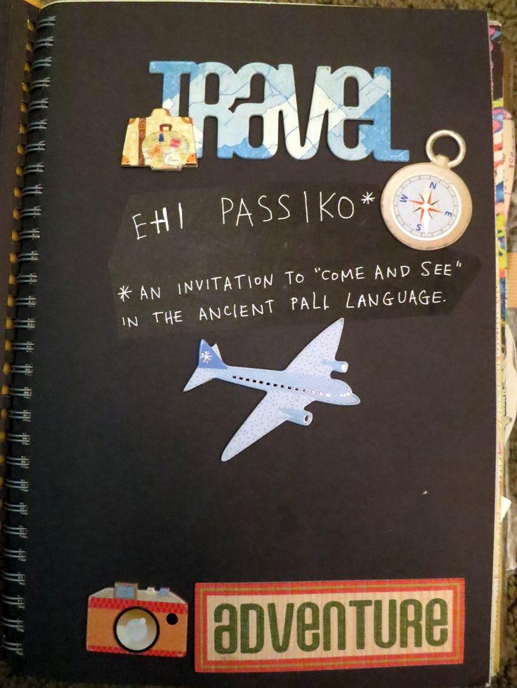 adventure intro travel smash book