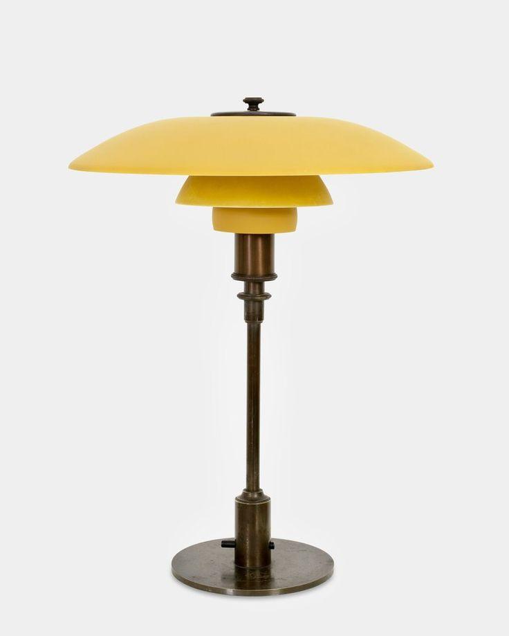 PH Table Lamp PAT. APPL. by Poul Henningsen