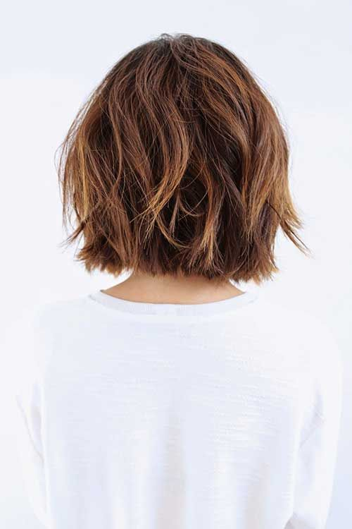 Photos via: Anh Co Tran Can't get enough of this long subtle ombré bob, especially the wavy texture and shine. Description from pinterest.com. I searched for this on bing.com/images