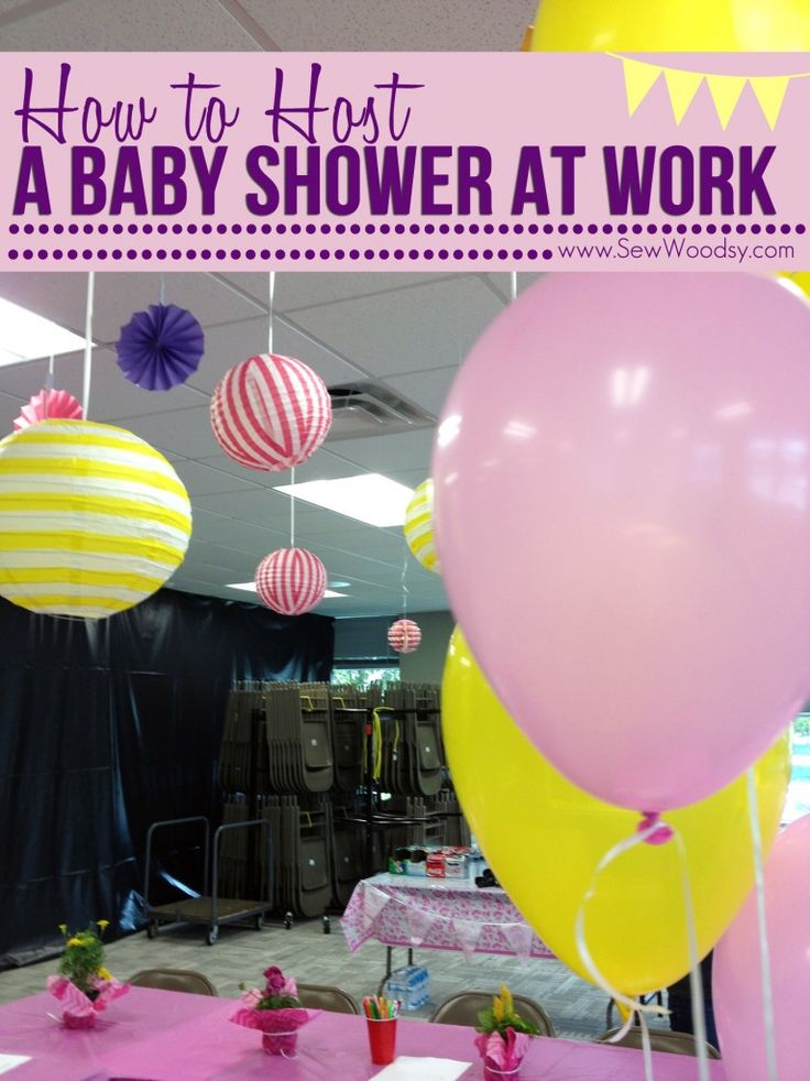 How To Host A Baby Shower At Work Party Inspiration In
