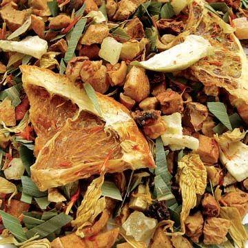 COCKTAIL GOURMET ( mango, ananas, mela ) - http://www.bottegadelletisane.it/infuso-estivo-alla-frutta.html