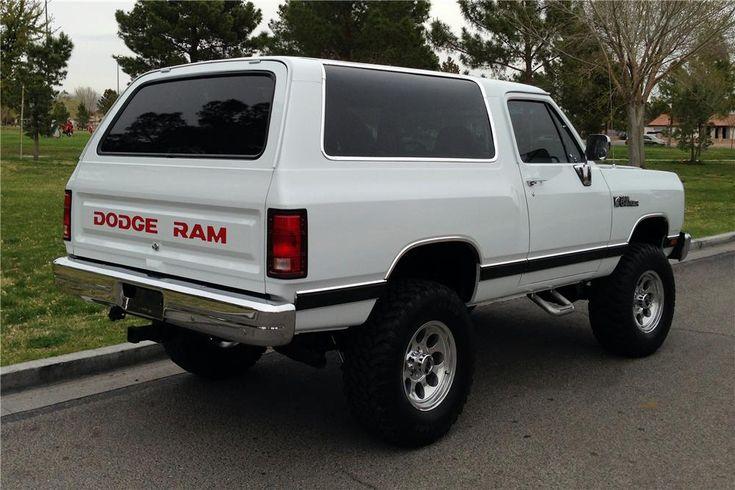 1989 DODGE RAMCHARGER Lot 350   Barrett-Jackson Auction Company