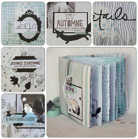 les 25 meilleures id es de la cat gorie tutoriel de confection de mini album sur pinterest. Black Bedroom Furniture Sets. Home Design Ideas