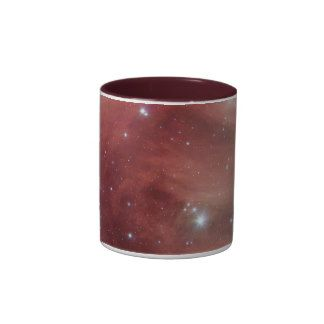 NASAs Pink Pleiades stars coffee mugs from Zazzle