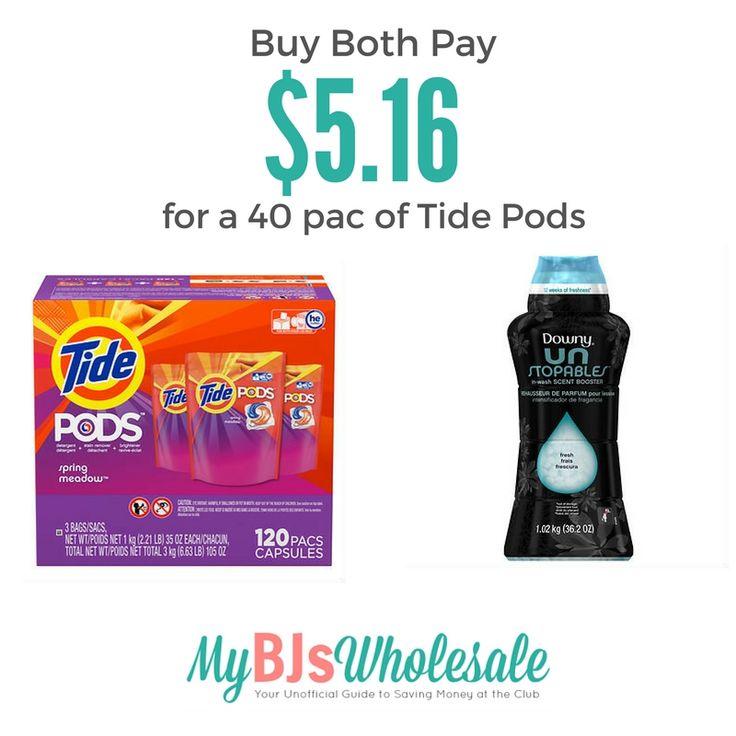 New $2 Tide Pods Coupon + Deal at BJ's Wholesale - http://www.mybjswholesale.com/2016/09/new-2-tide-pods-coupon-deal-bjs-wholesale.html/
