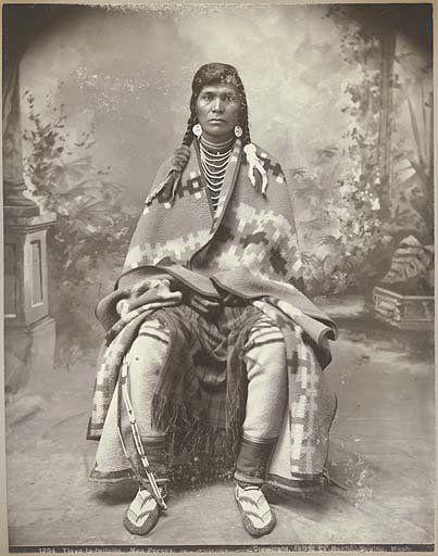 Tipya-la-lwilpilp - Nez Perce - 1899