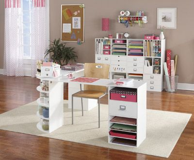 Jetmax Large Craft Room -  PRODUCT FEATURES    • Assembles quickly and easy to clean    • Classic white finish    • Constructed of durable, high quality MDF fiberboard    • Mix and match cubes to create a unique storage system for all your projects!    Jetmax Large Craft Room built with modular craft pieces