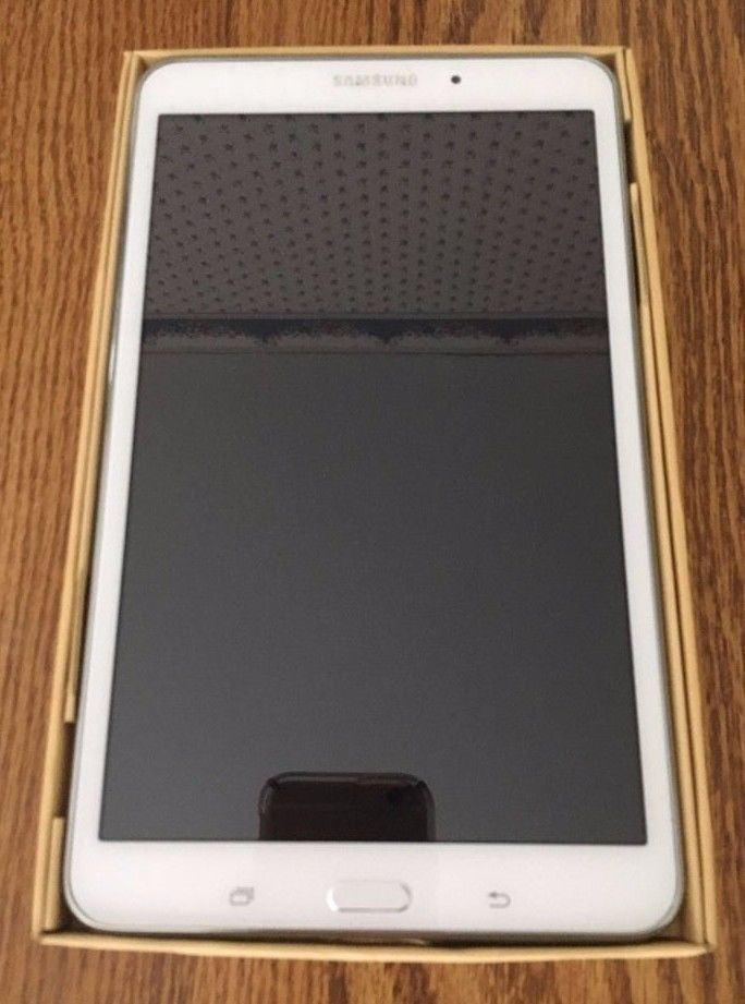Samsung Galaxy Tablet 4 Tablet 8.0 White College Electronic School Home Office  #Samsung