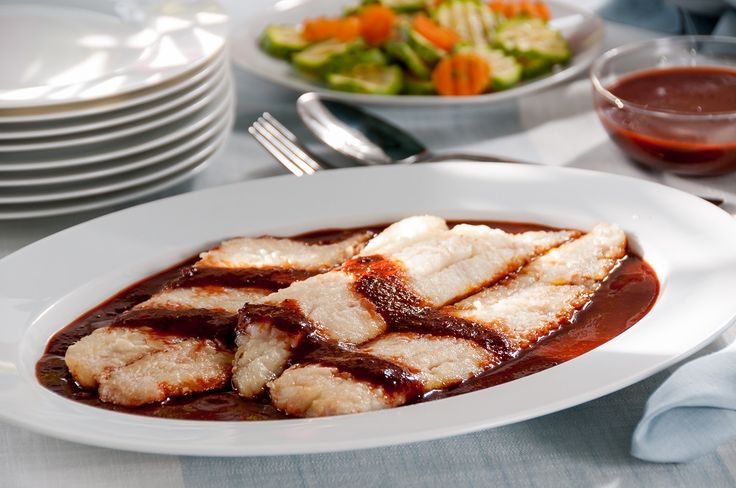 Authentic mexican recipe fish in chileajo chile and for Garlic sauce for fish