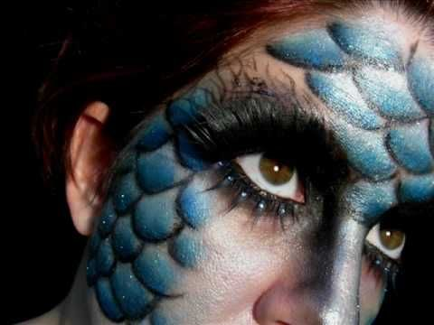"""I really want to try this """"evil mermaid"""" look on someone . . ."""