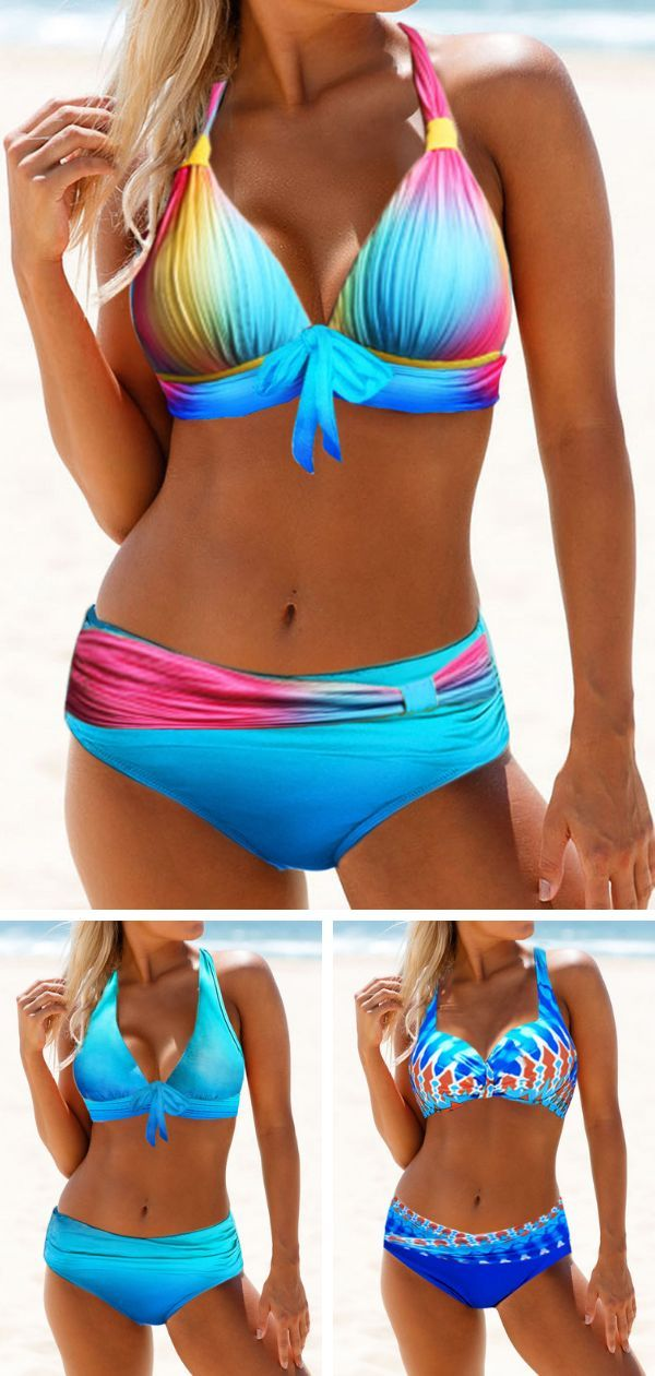 Mit dieser trendigen Bikinibadebekleidung sehen Sie diesen Sommer heißer aus. Di …   – Kleidung