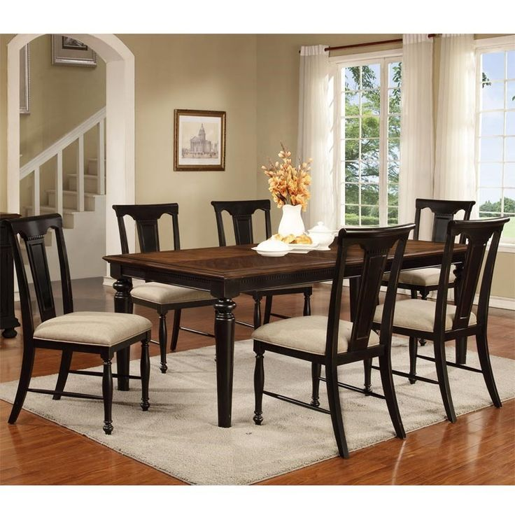 Rivington Hall 7 Piece Dining Set | Weekends Only Furniture And Mattress
