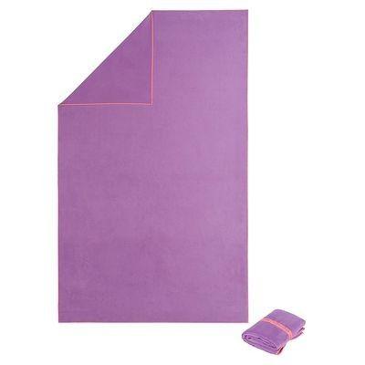 #toalla #natación microfibra violeta - Ultra compacta y absorbente. http://www.decathlon.es/toalla-violeta-42-x-55-cm-id_8216279.html