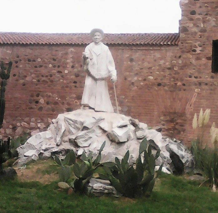 Cura Brochero - Plazoleta del Fundador. Cordoba .Argentina