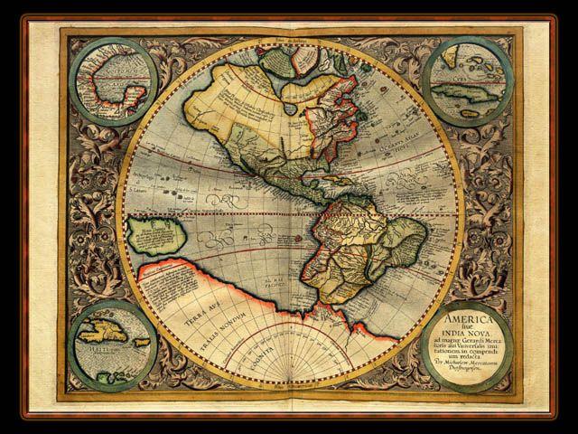 Gerhard Mercator 1595 World Atlas