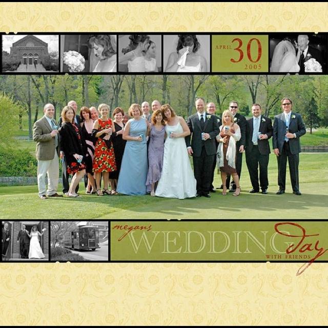 Wedding Day Layout