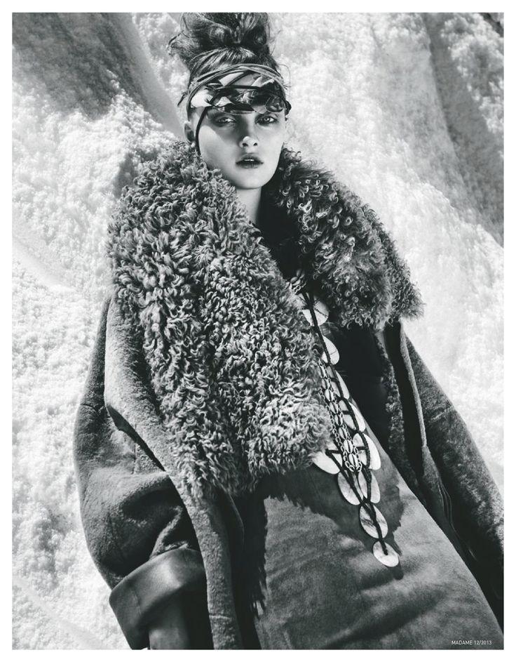 julia beliakova by thanassis krikis for madame germany december 2013