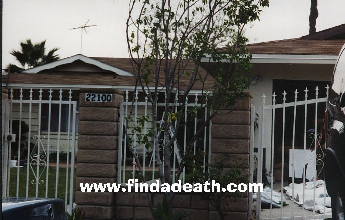The Death of Judith Barsi Her house in the Valley where her father murdered her and her mother
