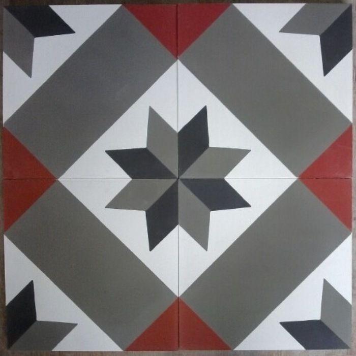 carrelage motif carrelage mural motif paris cm preti castorama grandeco botanical moroccan. Black Bedroom Furniture Sets. Home Design Ideas