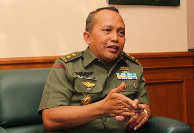 Asisten Teritorial KASAD Mayjen TNI Kustanto Widiatmoko (Bsyu Erlangga/Jitunews)
