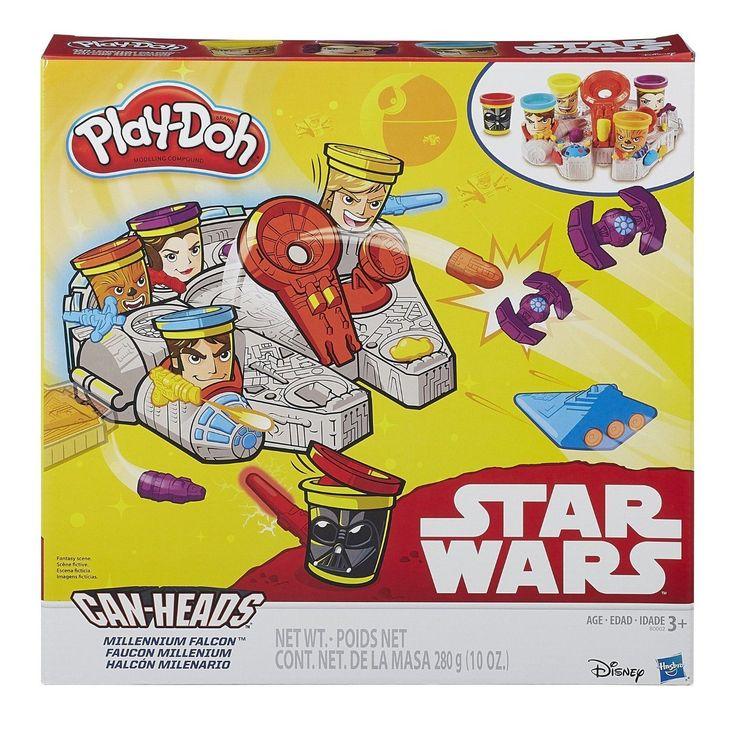 Набор для лепки «тысячелетний сокол» hasbro - play-doh