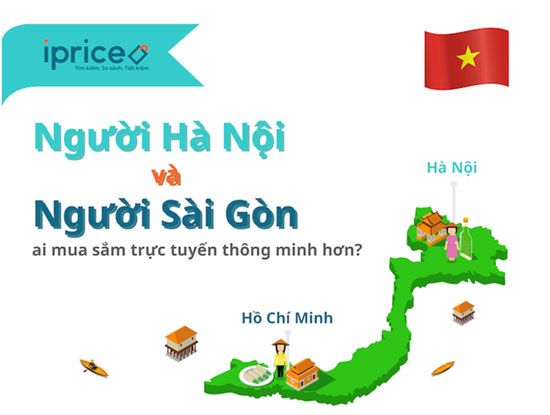 Những khác biệt trong thói quen mua sắm online của người dân Hà Nội TP.HCM