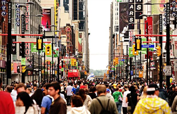 Younge Street - Toronto - Canada