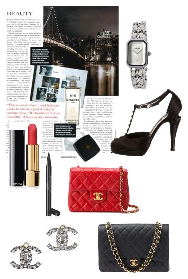 """""""Chanel..what else?"""" by blair1969w on Polyvore featuring moda e Chanel"""