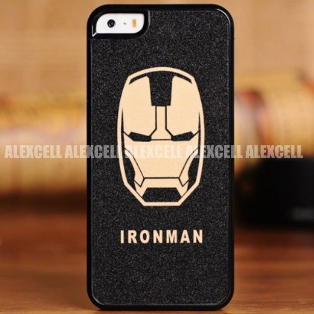 Back Case for iPhone 5 5G 5s - Superhero Series - Ironman