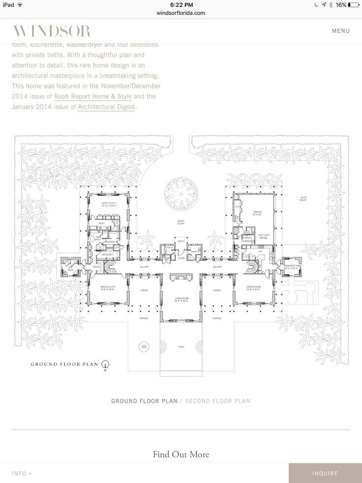 7e5120b31e3c52098759128c72a60fa2 urbanism windsor 975 best architectural elevations & plans images on pinterest,Arvida Homes Floor Plans