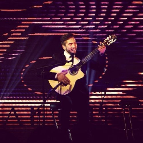 The Voice finalist @KeNDji performing live in Paris Photo taken by Studio Cabrelli
