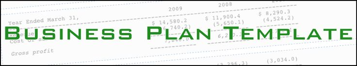 Business Plan Templates, helpful resource to get you started. Find one to fit your need.