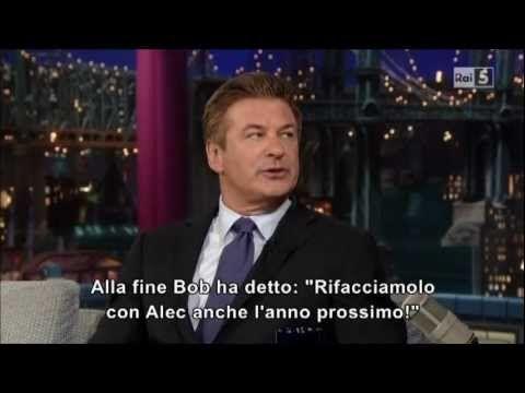 Alec Baldwin al David Letterman Show  - Alec gave up sugar and carbs
