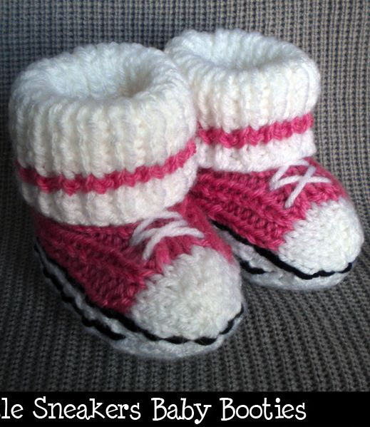 Baby booties knitting pattern...http://www.pinterest.com/beverleebull22/diy-crafts/