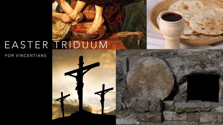 Easter Triduum Reflection for Vincentians [ENGLISH]