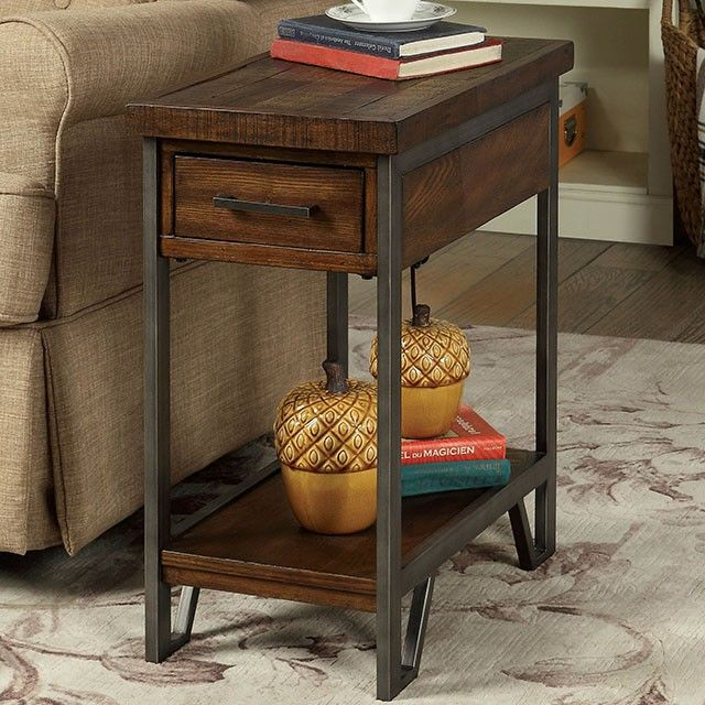 Foa Brick Attic Side Table End Tables With Storage End Tables Table