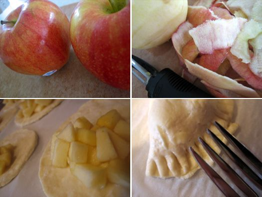 Apple Hand Pie....love these & can't wait to make them for picniks this summer